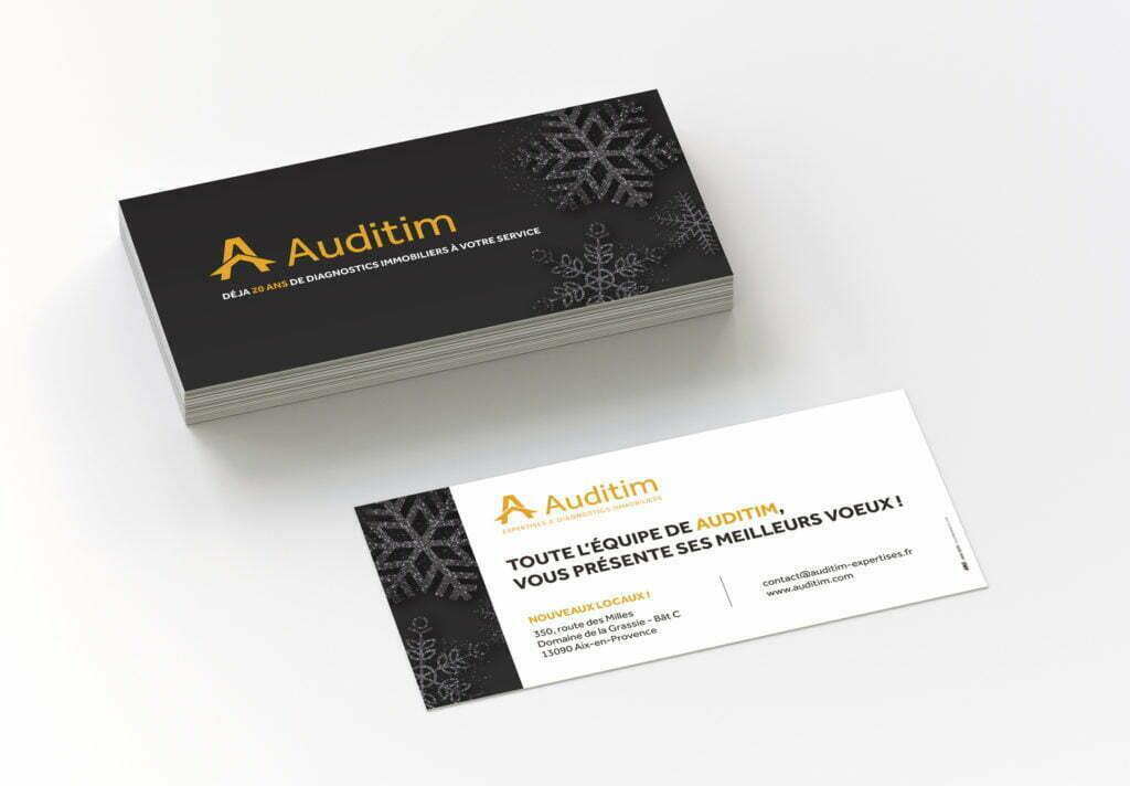 Cartons noel Auditim
