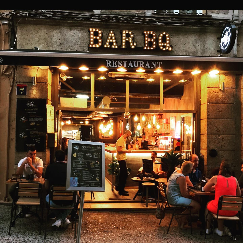 Devanture Restaurant BARBQ