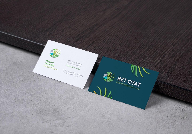 Cartes de visite BET OYAT